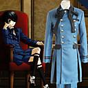 povoljno Anime kostimi-Inspirirana Crna Butler Ciel Phantomhive Anime Cosplay nošnje Japanski Cosplay Suits Jednobojni Dugih rukava Kravata / Shirt / Top Za Muškarci / Žene / Kratke hlače / Luk / Luk / Kratke hlače