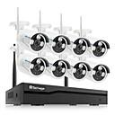 billige TWS Sann trådløse hodetelefoner-techage 1080p / 2mp (1920 * 1080) 2 stk kuppel nr