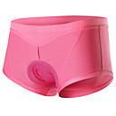 povoljno Seksi donje rublje-Arsuxeo Žene Biciklističke gaćice - Crn Pink Jedna barva Bicikl Kratke hlače Donje rublje Shorts Podstavljene kratke hlače Prozračnost Pad 3D Quick dry Anatomski dizajn Zima Sportski Poliester