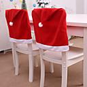 זול מנורות בסיסים ומחברים-דקורטיבי חג המולד כובע בסגנון הכיסא המושב האחורי לכסות