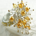 ราคาถูก แหวนผ้าเช็ดปาก-คลาสสิก Arylic รอบ ห่วงห่อผ้าเช็ดปาก Patterned Christmas ดอกไม้ วันฮาโลวีน ตกแต่งโต๊ะ 12 pcs