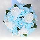 Χαμηλού Κόστους Μαξιλαράκια για Βέρες-Λουλούδια Γάμου Μπουκέτα Γάμου / Γαμήλιο Πάρτι Χάντρες / Poron 11-20 ίντσες
