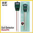 billige Målere og detektorer-rz jord fuktighet fuktighet hygrometer måling mini ph meter jord fuktighetsovervåke hagearbeid plante oppdrett lett sollys tester