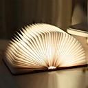 Χαμηλού Κόστους Φωτιστικά Καθρέφτη-1pc Βιβλίο Επιτραπέζια νύχτα Ενσωματωμένη μπαταρία Li-Battery Πτυσσόμενο / Επαναφορτιζόμενο / Μαγνητική