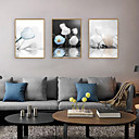 baratos Quadros com Moldura-Impressão de Arte Emoldurada Conjunto Emoldurado - Vida Imóvel Floral / Botânico Poliestireno Ilustração Arte de Parede