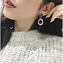 billiga Jewelry Set-Dam Dropp Örhängen Pärlhalsband Statement Europeisk Romantisk örhängen Smycken Gul / Röd / Blå Till Gåva Dagligen en Pair