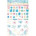 billige Putevar-1 pcs Klistremerker Totem Serier Neglekunst Manikyr pedikyr Mini Stil / Verneutstyr / Ergonomisk Design Stilfull / Enkel