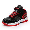 Χαμηλού Κόστους Παιδικά αθλητικά παπούτσια-Αγορίστικα Ανατομικό PU Αθλητικά Παπούτσια Μεγάλα παιδιά (7 ετών +) Μπάσκετ Μαύρο / Κόκκινο / Μαύρο / Μπλε Φθινόπωρο / Καοτσούκ