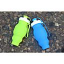 billige Novelty drikkeredskaper-sammenleggbar vannflaske, silikon foldbar med lekkasikkert reisevennlig matkvalitets silikon