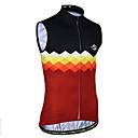 Χαμηλού Κόστους Τζάκετ Ποδηλασίας-21Grams Καρό Ανδρικά Αμάνικο Γιλέκο ποδηλασίας - Μαύρο /  Άσπρο Μαύρο / Κόκκινο Ποδήλατο Μπολύζες Αναπνέει Ύγρανση Γρήγορο Στέγνωμα Αθλητισμός Τερυλίνη Ποδηλασία Βουνού Ποδηλασία Δρόμου Ρούχα