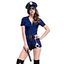 Χαμηλού Κόστους Office Basics-Αστυνομία Στολές Γυναικεία Καριέρα Halloween Επίδοση Στολές Ηρώων Θεματικό κόμμα Κοστούμια Γυναικεία Στολές χορού Πολυεστέρας Ζώνη