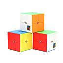 billige Nivåmålingsinstrumenter-6 stk Magic Cube IQ-kube 4*4*4 Glatt Hastighetskube Magiske kuber Kubisk Puslespill Lett å bære Barne Leketøy Alle Gave