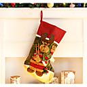 ราคาถูก ของตกแต่งHoliday-ตกแต่งวันคริสมาสต์ Toys Socks ชิ้น คริสมาสต์ ของขวัญ