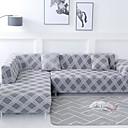 baratos Cobertura de Sofa-Cobertura de Sofa Geométrica / Clássico / Contemporâneo Impressão Reactiva Poliéster Capas de Sofa