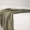 baratos Costumes étnicas e Cultural-Cobertores Multifuncionais, Sólido Poliéster Macio cobertores