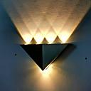 povoljno Vanjski fenjeri-New Design Suvremena suvremena Outdoor zidna rasvjeta Unutrašnji / Garaža Metal zidna svjetiljka IP65 opći 1 W