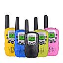 povoljno Walkie talkyji-baofeng mini bf-t3 walkie tokie prijenosni 8-kanalni dječji dvosmjerni radio 10 tonova poziva hf primopredajnik komunikator t3 (1 par))