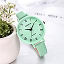 baratos Peças de Ignição-genebra senhoras relógio doces cor pequena cinta moda casual watch