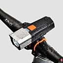 baratos Armazenamento e Organização-LED Luzes de Bicicleta Luz Frontal para Bicicleta LED Ciclismo de Montanha Moto Ciclismo Impermeável Múltiplos Modos Super brilhante Segurança 18650.0 900 lm Bateria Recarregável Branco Campismo