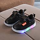 Χαμηλού Κόστους Παιδικά πέδιλα-Αγορίστικα / Κοριτσίστικα LED / Ανατομικό / Φωτιζόμενα παπούτσια PU Αθλητικά Παπούτσια Νήπιο (9m-4ys) / Τα μικρά παιδιά (4-7ys) Μαύρο / Λευκό / Ροζ Άνοιξη / Φθινόπωρο / Καοτσούκ