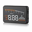 Χαμηλού Κόστους HUD Προβολής στο Παρμπρίζ-οθόνη gps ταχύμετρο obd2 διασύνδεση x5 3 προβολέας πρότζεκτ ψηφιακό αυτοκίνητο ταχύμετρο αυτοκίνητο