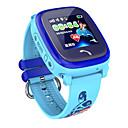 Χαμηλού Κόστους Έξυπνα Ρολόγια-Έξυπνο ρολόι Ψηφιακό Μοντέρνο Στυλ Αθλητικό σιλικόνη 30 m Ανθεκτικό στο Νερό Συσκευή Παρακολούθησης Καρδιακού Παλμού Bluetooth Ψηφιακό Καθημερινό Υπαίθριο - Βυσσινί Θαλασσί