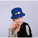 ราคาถูก เครื่องประดับผมสำหรับงานปาร์ตี้-100% ขนแกะ หมวก / ฮารด์แวร์ / เครื่องสวมศรีษะ กับ หมวก / โลหะ / ขอบ 1 งานปาร์ตี้ / งานราตรี หูฟัง