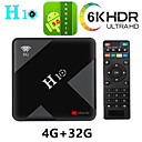 billige Nye Gadgeter-h10 smart tv-kasse android 9.0 4 gb ram 32 gb rom 2.4g 5g wifi set top box allwinner h6 quad core h.265 6k hdr mediaspiller