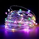 ราคาถูก สายไฟ LED-10 เมตร 100 leds usb ขับเคลื่อนเงินทองแดงไฟสตริงลวดคริสต์มาสพวงมาลัยนางฟ้าปาร์ตี้วันหยุดงานแต่งงานคริสต์มาสตกแต่งไฟ