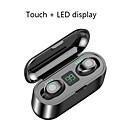 billige Miksere-Litbest LX-9 Mini Smart Touch TWS Trådløse øretelefoner Bluetooth-øretelefoner 5.0 Trådløse ørepropper 8D stereohodetelefoner med 2000 mAh ladekasse