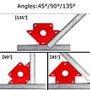 Χαμηλού Κόστους Κάμερες Εσωτερικού Δικτύου IP-μαγνήτης συγκόλλησης συγκράτησης 25 \ 50 \ 55 \ 75 \ 80lb δύναμη κόκκινο στυλ: τρίγωνο βέλος