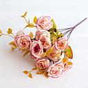 billige Sports hodetelefoner-Kunstige blomster 5 Gren Klassisk Moderne Pastorale Stilen Roser Evige blomster Bordblomst