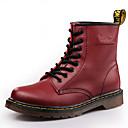 ราคาถูก รองเท้าบูตผู้ชาย-สำหรับผู้ชาย รองเท้าหนัง หนัง ฤดูหนาว / ฤดูใบไม้ร่วง & ฤดูหนาว Sporty / ไม่เป็นทางการ บูท กันน้ำ รองเท้าบู้ทหุ้มข้อ สีดำ / ไวน์ / น้ำตาลเข้ม / กลางแจ้ง / สำนักงานและอาชีพ / Fashion Boots