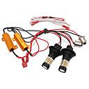 Χαμηλού Κόστους Σκιές Ματιών-1set drl bau15s 1156 p21w t20 7440 96λεπτά φώτα τρέχουσας οδήγησης φώτα στροφών σήματος canbus s25 διπλή λειτουργία εξωτερικά φώτα