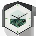 זול שעוני קיר-מודרני עכשווי פלסטי לֹא סָדִיר בבית