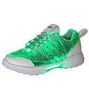 Χαμηλού Κόστους Αντρικά Αθλητικά Παπούτσια-Γιούνισεξ Φωτιστικά παπούτσια Μικροΐνα Φθινόπωρο & Χειμώνας LED / Καθημερινό Αθλητικά Παπούτσια Περπάτημα Αναπνέει Μαύρο / Λευκό / Ροζ / Απορροφητική