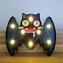 Χαμηλού Κόστους Βάζα & Κουτιά-αποκριές φώτα μπαταρία λειτουργούν σχήμα νυχτερίδας οδήγησε διακοσμητικό νυχτερινό φως για αποκριές μεταμφίεση κοστούμι καρναβάλι διακοσμήσεις επιτραπέζιο τοίχο ντεκόρ 1pack