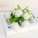 זול פרחים מלאכותיים-פרחים מלאכותיים 1 ענף קלאסי מודרני פסטורלי סגנון הורטנזיות פרחים נצחיים פרחים לשולחן