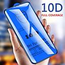 Χαμηλού Κόστους LED Bi-pin Λαμπτήρες-10d γυαλισμένο γυαλί για το iphone xs max xr x 7 8 προστατευτικό οθόνης για iphone 6 6s 7 8 συν πλήρη κάλυψη προστατευτική γυάλινη μεμβράνη