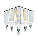 Χαμηλού Κόστους Λάμπες Καλαμπόκι LED-LOENDE 5pcs 80 W LED Λάμπες Καλαμπόκι 8000 lm E26 / E27 T 216 LED χάντρες SMD 5730 Θερμό Λευκό Άσπρο 85-265 V