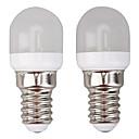 Χαμηλού Κόστους Λάμπες Σφαίρα LED-10pcs 2 W LED Λάμπες Σφαίρα 300 lm E14 8 LED χάντρες SMD 2835 Θερμό Λευκό Άσπρο 220-240 V
