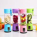 billige Miksere-bærbar usb elektrisk fruktjuice håndholdt vegetabilsk juice produsent blender ladbar mini juice lage kopp med ladekabel