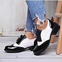 olcso Női topánkák és vászoncipők-Uniszex Lapos Lapos Kerek orrú PU Bokacsizmák Nyár Fekete / Fekete / fehér / Barna