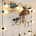 povoljno Ručni tuš-LED traka žarulja lopta vilicna svjetla 5m zabava xmas svadbeni dom ukras praznicka svjetiljka globalna pera vodila fleksibilna svjetlosna traka