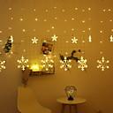 billige Øyenskygger-2.5m Lysslynger 138 LED Varm hvit Dekorativ 220-240 V 1set