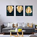 Χαμηλού Κόστους Εκτυπώσεις σε Κορνίζα-Εκτύπωση Τέχνης σε Κορνίζα Σετ σε Κορνίζα - Αφηρημένο Άνθινο / Βοτανικό Πολυστυρένιο Εικόνα Wall Art