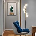 povoljno Podne lampe-moderna kreativna podne svjetiljka frotirana staklena svjetiljka ličnost standardna svjetiljka 6 lampica visok stup za dnevnu sobu studija uredsko osvjetljenje spavaće sobe