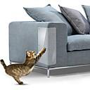 billige Automotive Kroppsdekorasjon og beskyttelse-48x15cm 2 stk sofa riper beskyttelse selvklebende møbler sofaklør beskytter klistremerke katt riper beskyttelse for skinnstoler