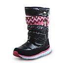ราคาถูก รองเท้าสโนว์บูตปีนเขา-เด็กผู้หญิง รองเท้าบู้ทใส่สำหรับหิมะ หนัง บูท Big Kids (7 ปี +) สีดำ / สีม่วง / สีบานเย็น ฤดูหนาว / บู้ทสูงระดับกลาง