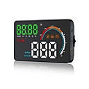billige Ergonomiske displayer-q5hud universalbil kjøretøy gps hud speed kilometerteller head up display digital bil speedometer overspeed